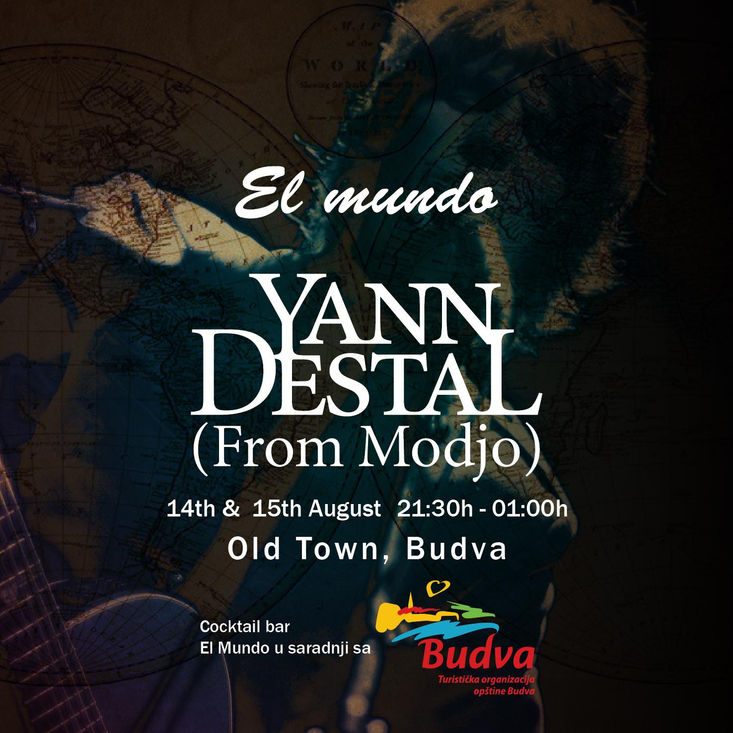 Yann Destal from Modjo