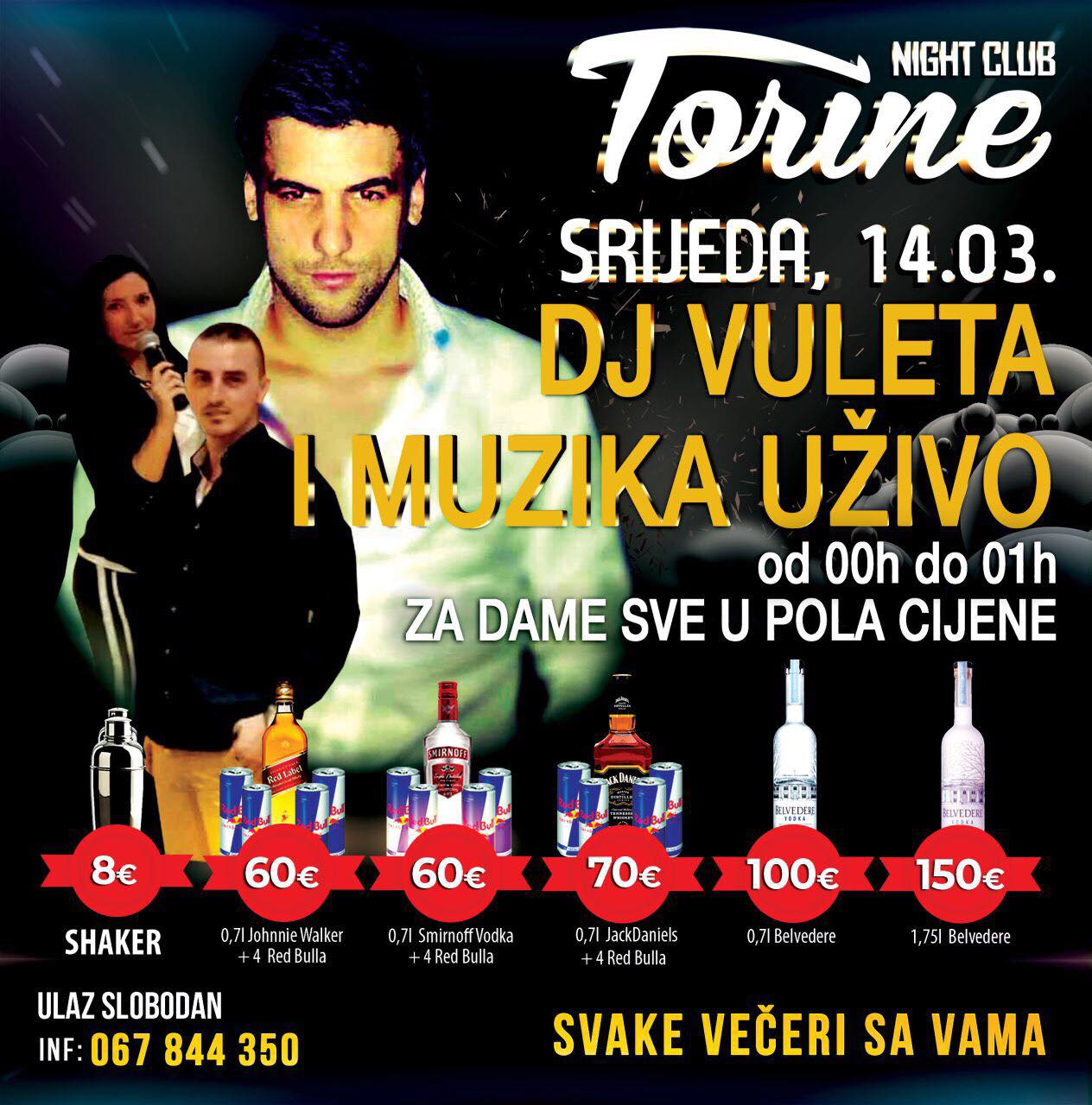 DJ Vuleta i Radovan Gatarić