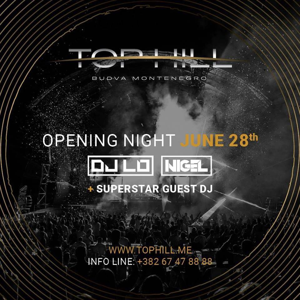 OPENING NIGHT / DJ LO & NIGEL + Superstar guest DJ
