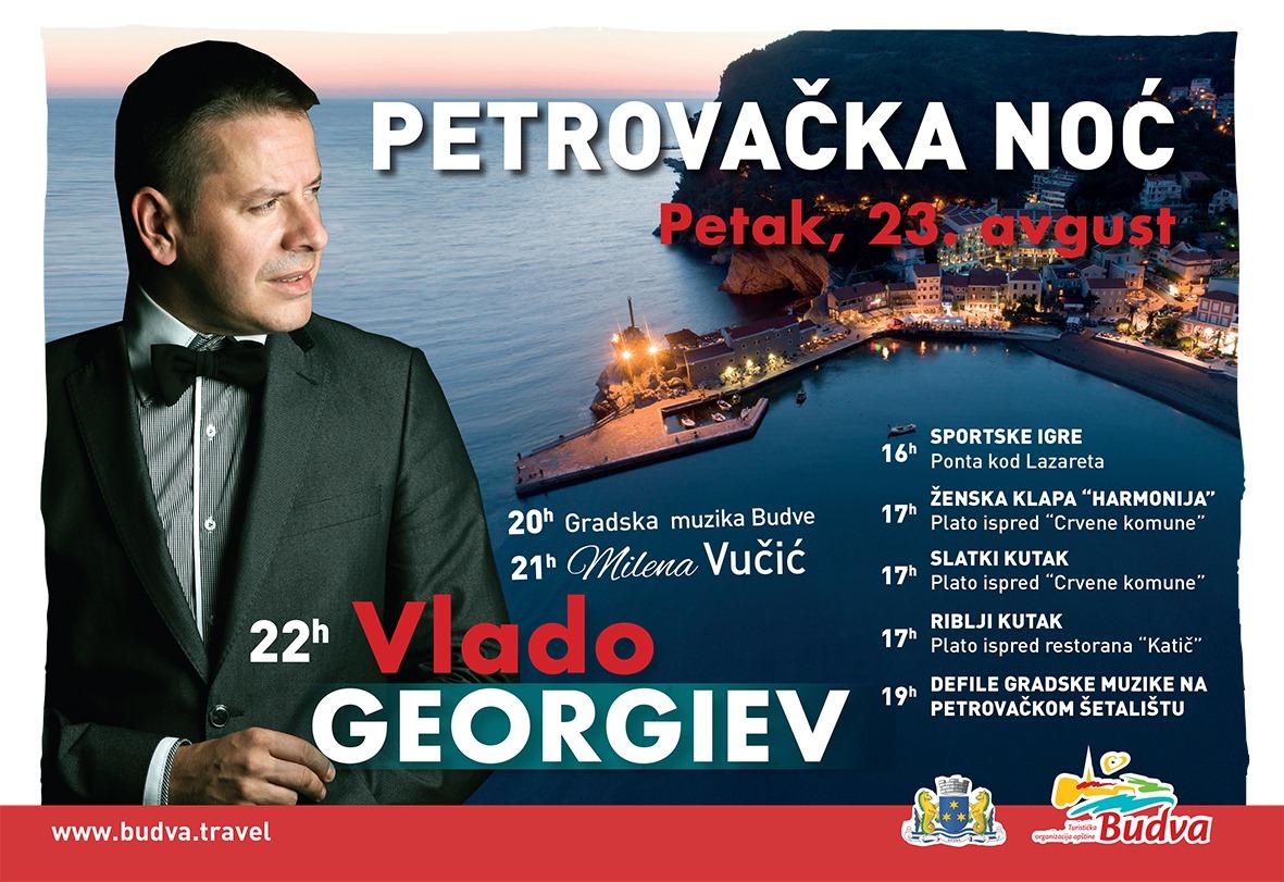 Petrovačka noć: Vlado Georgiev